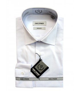 Белая сорочка Charlz Spanser