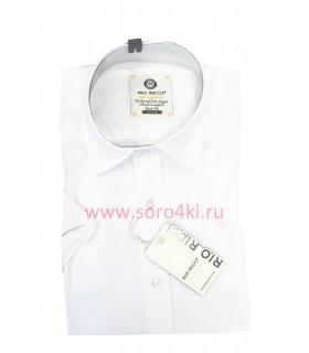 Белая льняная рубашка Rio Ricci