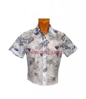 Рубашка гавайская расцветка