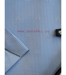 Классическая сорочка в мелкую клетку