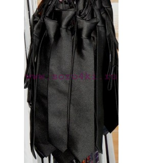 Школьный галстук (черный)
