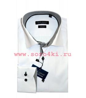 Сатиновая сорочка Charlz Spanser
