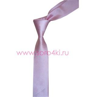 Розовый галстук
