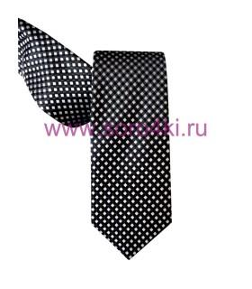 Черно-белый галстук
