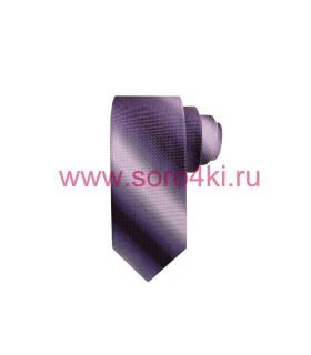 Сиреневый мужской галстук