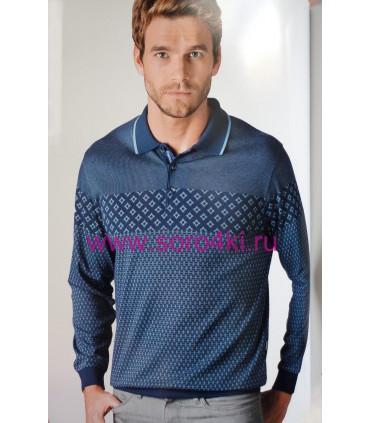 Рубашка - поло с длинным рукавом