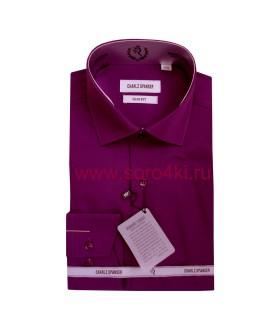 Рубашка однотонная Charlz Spanser