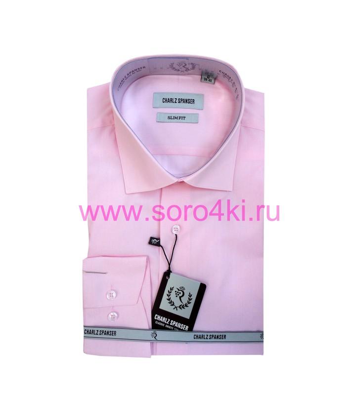 Сорочка светло-розовая