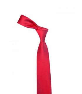 Атласный красный галстук