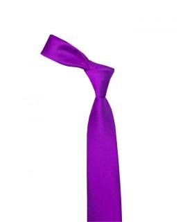 Фиолетовый атласный галстук