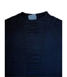 Темно-синий джемпер