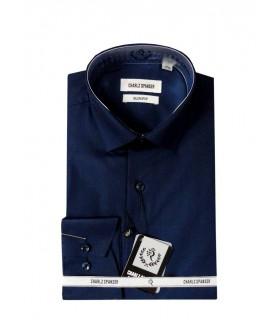 Темно-синяя сорочка