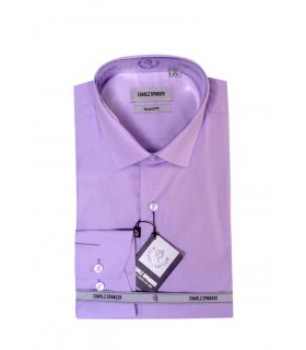 Мужская сиреневая сорочка