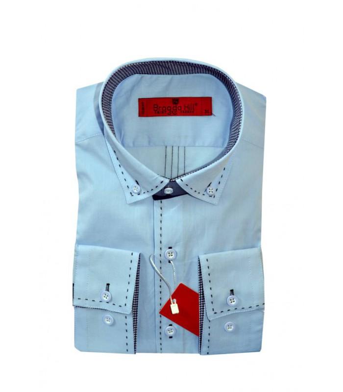 Рубашка со строчкой