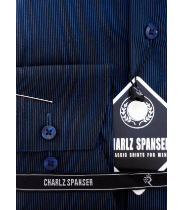 Рубашка Charlz Spanser в полоску