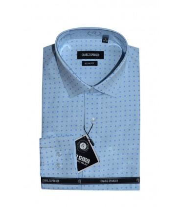 Рубашка в мелкий ромбик