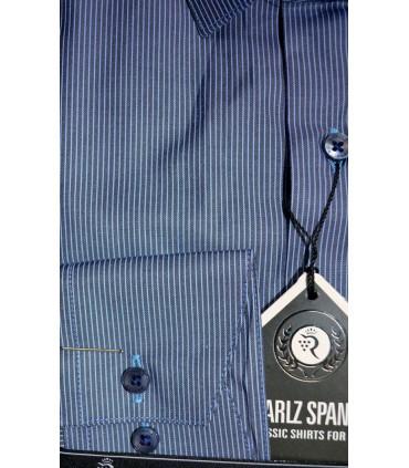 Сорочка в голубую полоску