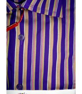 Сорочка фиолетовая