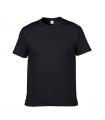 Черная мужская футболка оптом