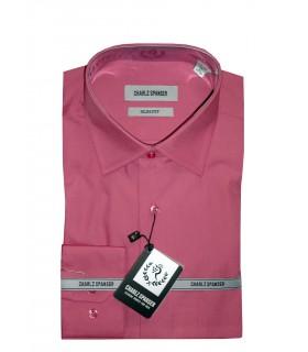 Сорочка темно-розовая